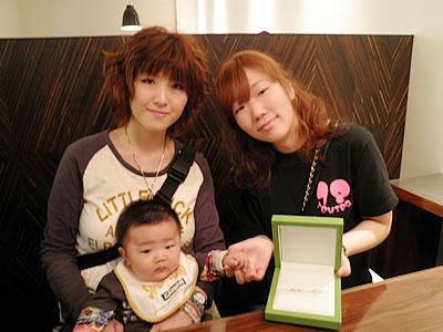 大阪の結婚指輪、婚約指輪なら岸和田市Garden(ガーデン)|お客様アルバム20101012-3