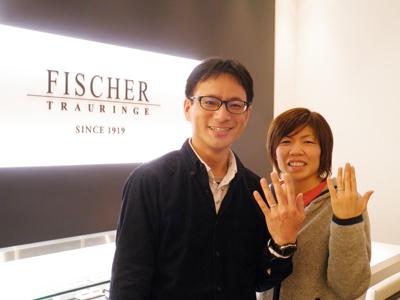 とてもすてきな指輪と出会いました。