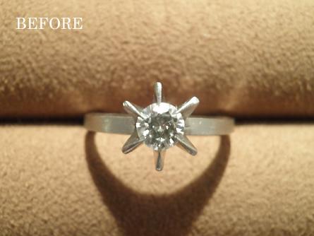 主人からの婚約指輪を娘にプレゼントしたい。