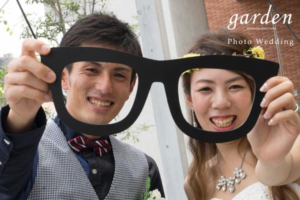 フォトウェディング¥9,800より!gardenプロデュース