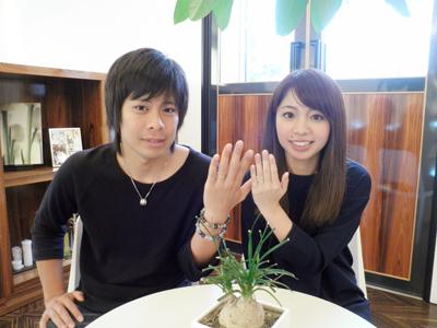 かわいい指輪が選べました。ありがとうございました。