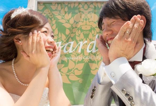 ☆gardenプロデュース☆フォトウエディング先行予約で記念品プレゼント☆ 5/20まで!!