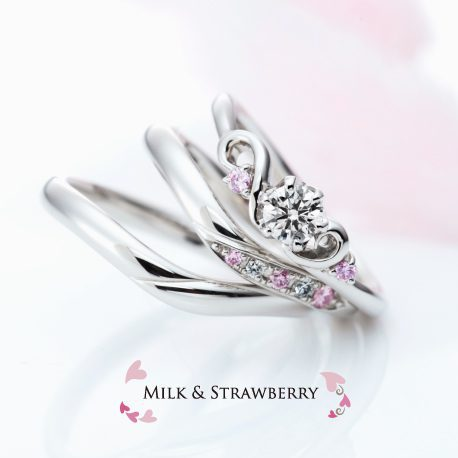 【Milk & Strawberry】誕生石ネックレスプレゼント!! 8/16~8/31