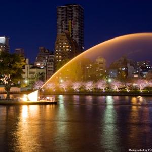 大阪gardenのサプライズプロポーズ 中之島公園