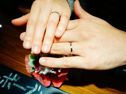 いい指輪を見つけることができました。