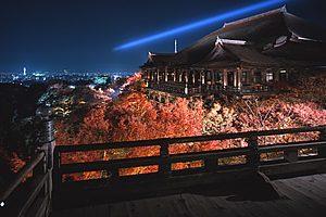 大阪でサプライズプロポーズ 清水寺
