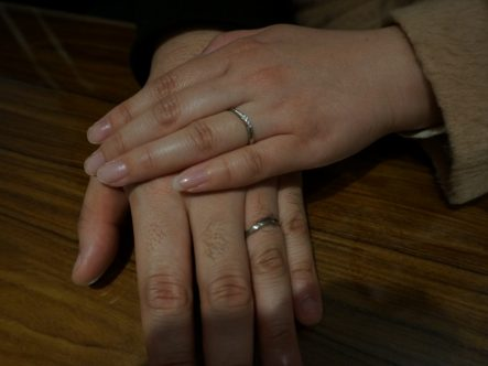 とっても素敵な指輪に出会えてよかったです♡
