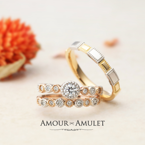 【AMOUR AMULET】誕生石ネックレスプレゼント!! ~6/22