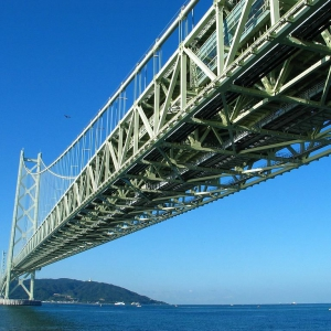 大阪でサプライズプロポーズ 明石海峡大橋