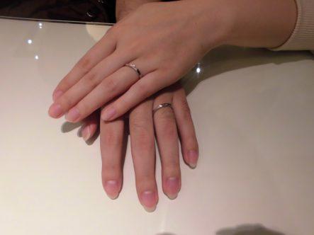 素敵な結婚指輪が見つけられました
