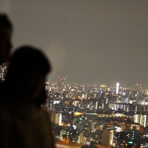 大阪でサプライズプロポーズ 京阪ユニバーサルタワー(ホテル)