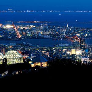 大阪のサプライズプロポーズ 神戸布引ハーブ園/ロープウェイ