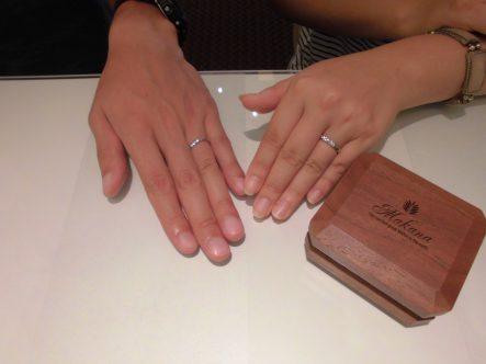 ステキな結婚指輪♡