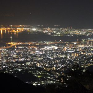 大阪でサプライズプロポーズ 摩耶山掬星台
