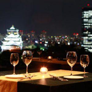 大阪gardenのサプライズプロポーズ KKRホテル大阪 レストラン シャトー