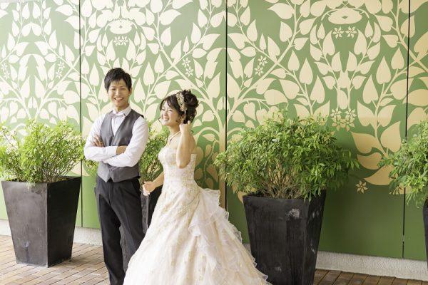 白いドレス姿が本当に綺麗で惚れ直しました