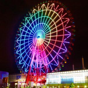 大阪でサプライズプロポーズ パレットタウン大観覧車