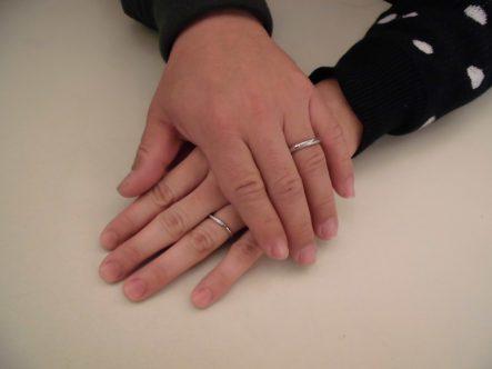 最後に二人で選んだ指輪