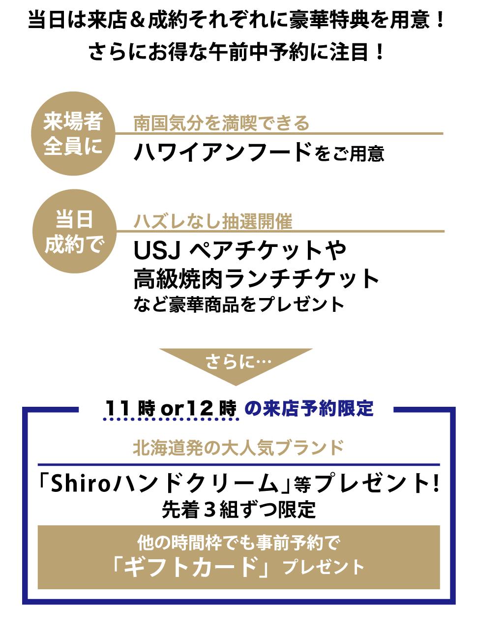 「Shiroハンドクリーム」等プレゼント!