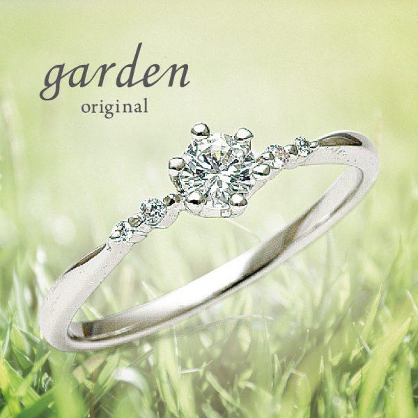 garden originalエンゲージリング*インサイドbirthday stoneプレゼント★*. 11/6まで