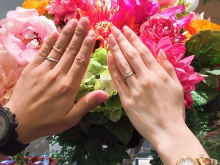 ラパージュの結婚指輪お客様1