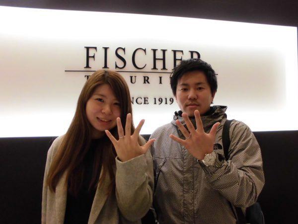 大阪岸和田でフィッシャーFISCHERの結婚指輪5