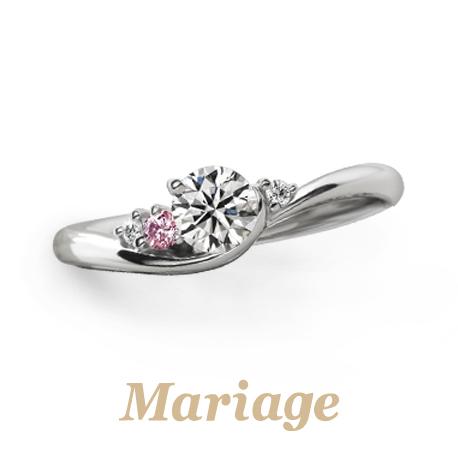 マリアージュエントのシェリールの婚約指輪で大阪岸和田市の正規取扱店