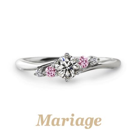 マリアージュエントのプレディシィの婚約指輪で大阪岸和田市の正規取扱店