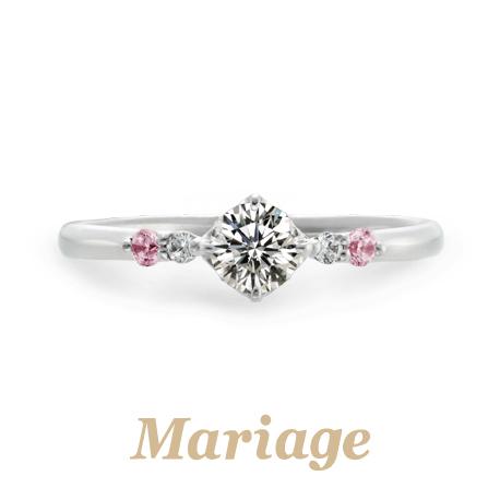 マリアージュエントのロンボヌールの婚約指輪で大阪岸和田市の正規取扱店