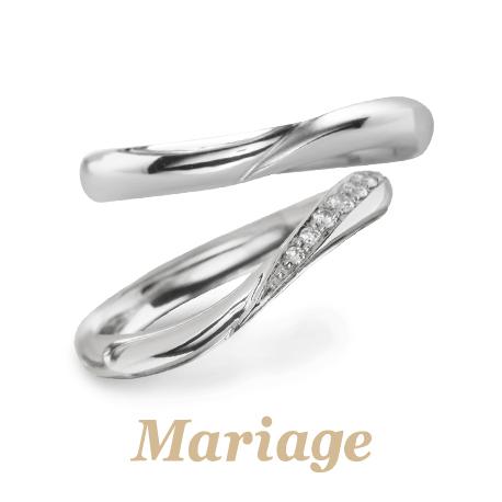 マリアージュのヴィーナスの結婚指輪で大阪岸和田市の正規取扱店
