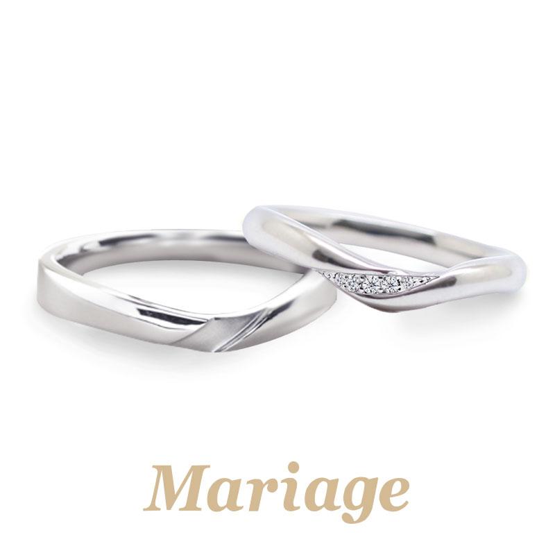 マリアージュエントのサミュゼの結婚指輪で大阪岸和田市の正規取扱店