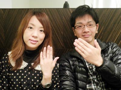 かわいい指輪をありがとうございました。