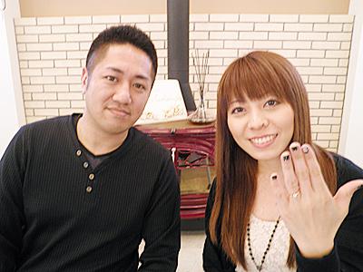 想像してたより実物のほうがとても美しく素晴らし指輪でした。