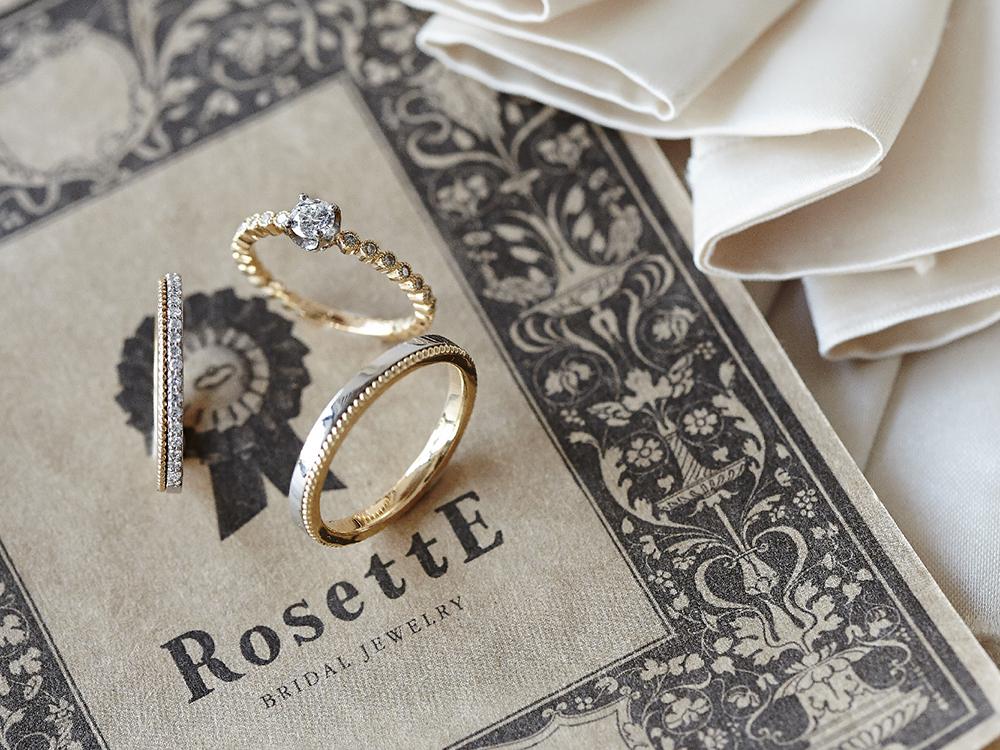 おしゃれな婚約指輪・結婚指輪大阪 RosettE(ロゼット)