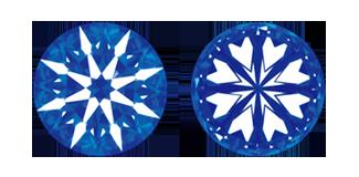 ハート&キューピットのダイヤモンド