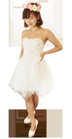 洋装ドレス3モデル