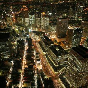 大阪gardenのサプライズプロポーズ 大阪市内 貸切ヘリクルーズ