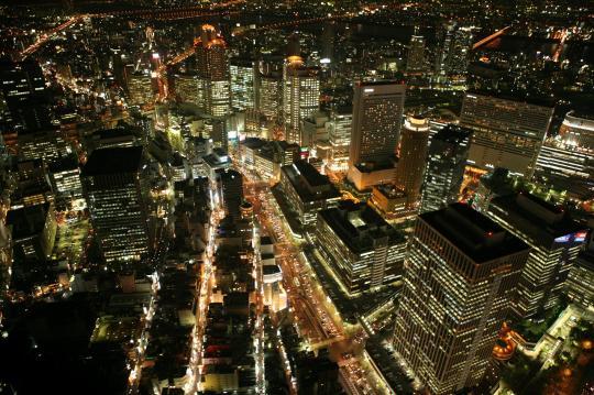 大阪のサプライズプロポーズ 大阪市内 貸切ヘリクルーズ