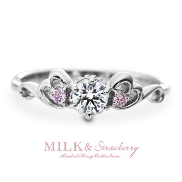 MILK&Strawberryの婚約指輪