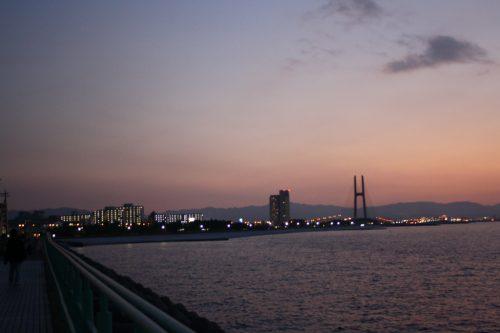 大阪のサプライズプロポーズ りんくう公園