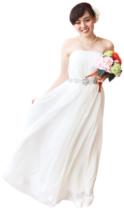 洋装ドレス5後ろ