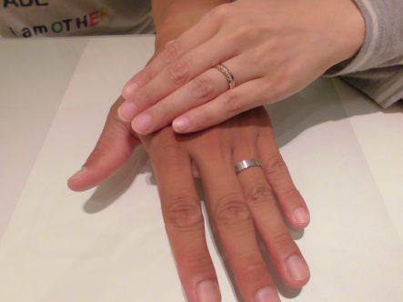 ステキな指輪をありがとうございます♡
