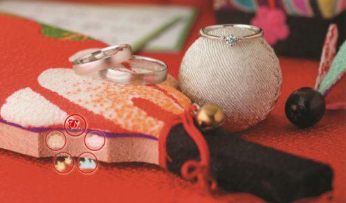 和歌山で人気な和テイストの結婚指輪ブランドのひな