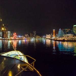 大阪gardenのサプライズプロポーズ 神戸港ナイトクルーズ