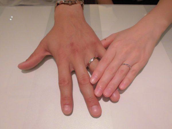 色々な指輪の提案ありがとうございました