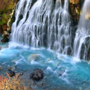 大阪gardenのサプライズプロポーズ 白髭の滝