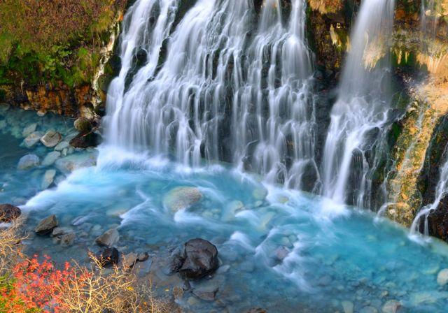 大阪のサプライズプロポーズ 白髭の滝