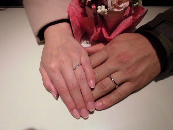 素敵な指輪を