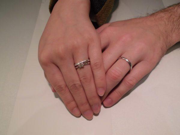 素敵な指輪をありがとうございます