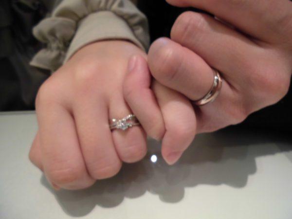 お気に入りの指輪に出会えました